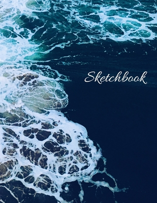 Sketchbook, Personalized Sketch Book for Sketching, Drawing or Doodling, (8.5