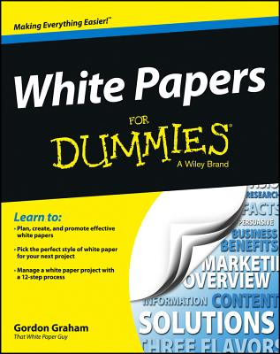 White Papers Fd (For Dummies) Cover Image