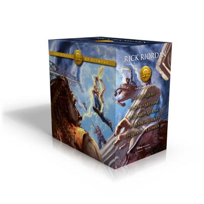 The Heroes of Olympus Paperback Boxed Set Cover Image