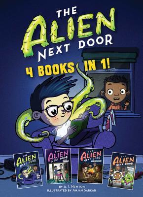The Alien Next Door: 4 books in 1! Cover Image