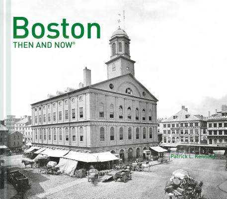 Boston Then and Now® cover