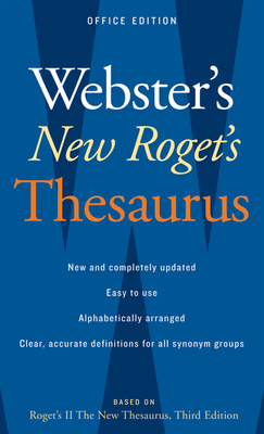 Webster's New Roget's Thesaurus, Office Edition Cover Image