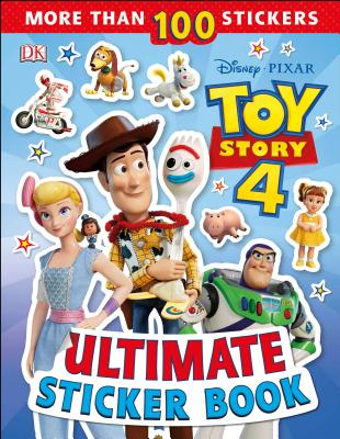 Ultimate Sticker Book: Disney Pixar Toy Story 4 Cover Image