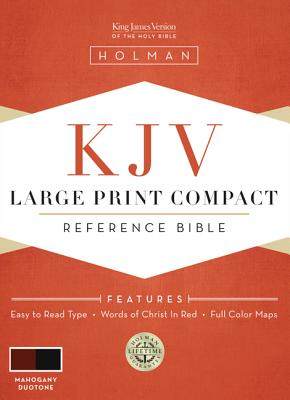 Large Print Compact Bible-KJV Cover