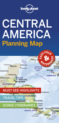 Lonely Planet Central America Planning Map 1 (Planning Maps) Cover Image