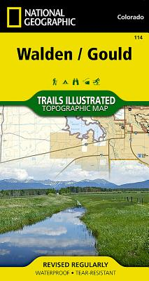 Walden, Gould (National Geographic Maps: Trails Illustrated #114) Cover Image