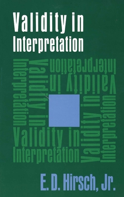 Cover for Validity in Interpretation