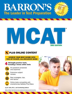 Cover for MCAT with Online Tests (Barron's Test Prep)