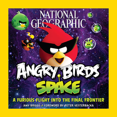 National Geographic Angry Birds Space Cover