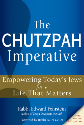 The Chutzpah Imperative Cover