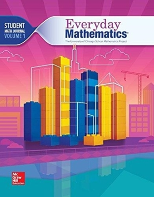 Everyday Mathematics 4, Grade 4, Student Math Journal 1 Cover Image