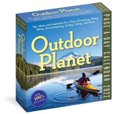Cover for Outdoor Planet Page-A-Day Calendar 2022