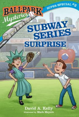 Ballpark Mysteries Super Special #3: Subway Series Surprise Cover Image