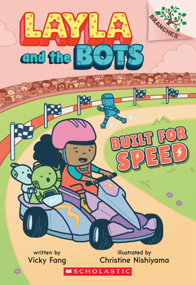 Built for Speed: A Branches Book (Layla and the Bots #2) Cover Image