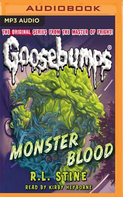 Monster Blood Classic Goosebumps 3 Mp3 Cd Trident Booksellers And Cafe