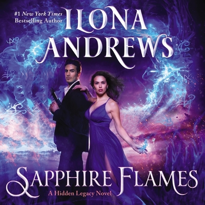 Sapphire Flames: A Hidden Legacy Novel Cover Image