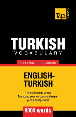 Turkish vocabulary for English speakers - 9000 words Cover Image