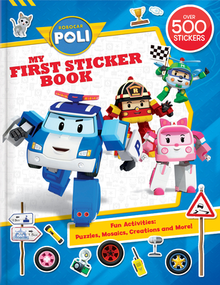 Robocar Poli: My First Sticker Book Cover Image