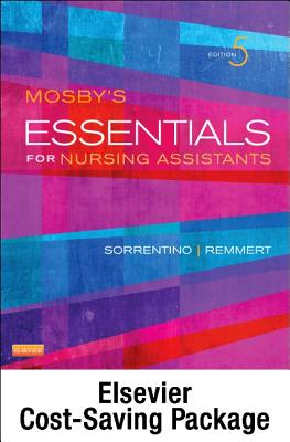 Mosby's Essentials for Nursing Assistants - Text, Workbook and Mosby's Nursing Assistant Skills DVD - Student Version 4.0 Package Cover Image