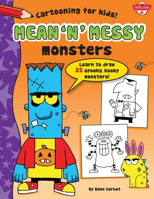 Mean 'n' Messy Monsters Cover