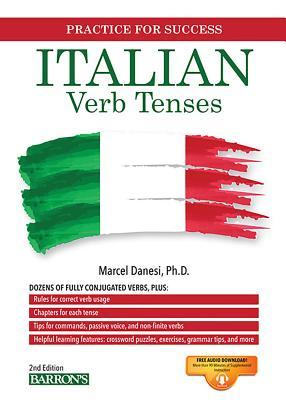 Italian Verb Tenses (Barron's Verb) Cover Image