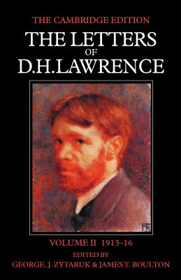 The Letters of D. H. Lawrence Cover