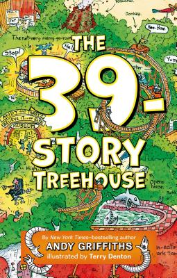 The 39-Story Treehouse: Mean Machines & Mad Professors! (The Treehouse Books #3) Cover Image