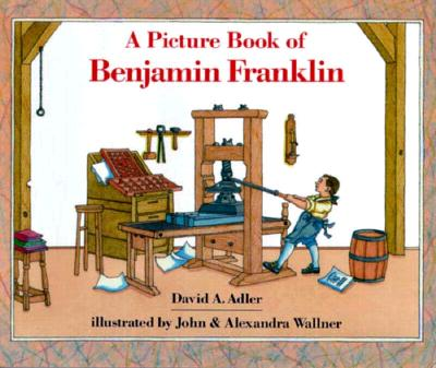 A Picture Book of Benjamin Franklin Cover