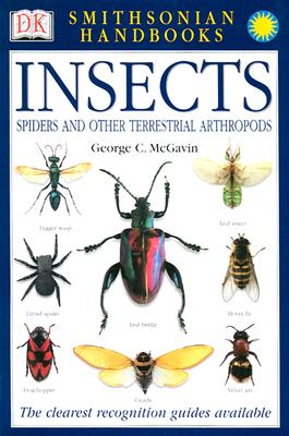 Handbooks: Insects: The Most Accessible Recognition Guide (DK Smithsonian Handbook) Cover Image