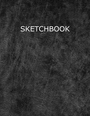 Sketchbook: With Leather Style Cover for Sketching, Drawing and Doodling Cover Image