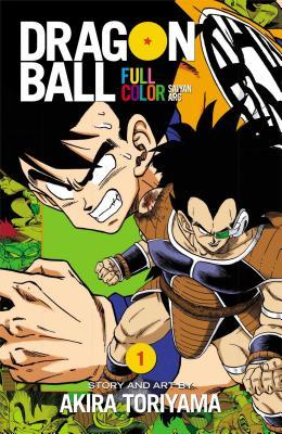 Cover for Dragon Ball Full Color Saiyan Arc, Vol. 1