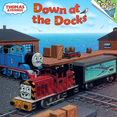 Thomas & Friends: Down at the Docks (Thomas & Friends) Cover Image