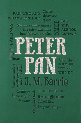 Peter Pan (Word Cloud Classics) Cover Image