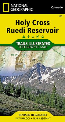 Holy Cross, Ruedi Reservoir (National Geographic Trails Illustrated Map #126) Cover Image