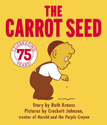 The Carrot Seed Board Book Cover