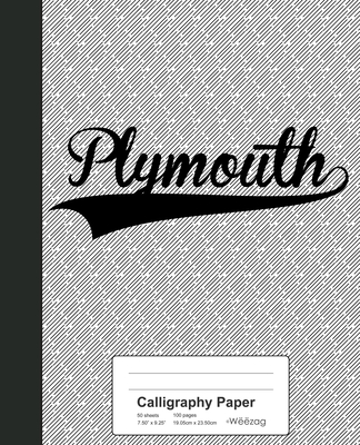 Calligraphy Paper: PLYMOUTH Notebook Cover Image