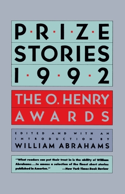 Prize Stories 1992: The O. Henry Awards Cover Image
