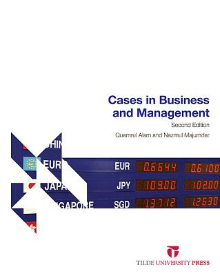 Cases in Business and Management Cover Image