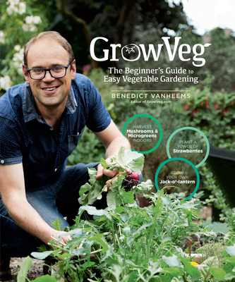 GrowVeg: The Beginner's Guide to Easy Vegetable Gardening Cover Image
