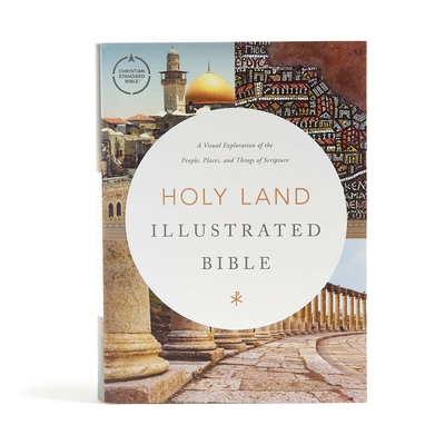 Cover for CSB Holy Land Illustrated Bible, Hardcover