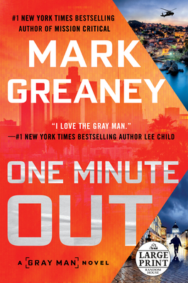 One Minute Out (Gray Man) Cover Image