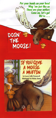 If You Give a Moose a Muffin Mini Book and Tape (If You Give...) Cover Image