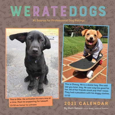 WeRateDogs 2021 Wall Calendar Cover Image
