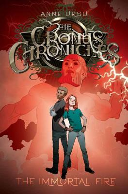 Cover for The Immortal Fire (The Cronus Chronicles #3)
