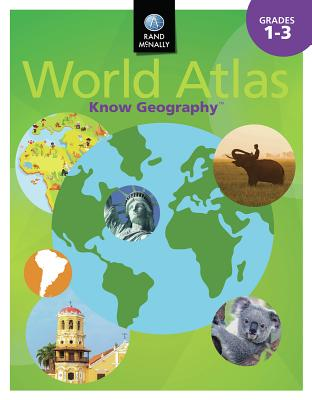 Know Geography World Atlas Grades 1-3 Cover Image