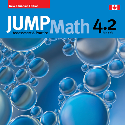 Jump Math AP Book 4.2: New Canadian Edition Cover Image