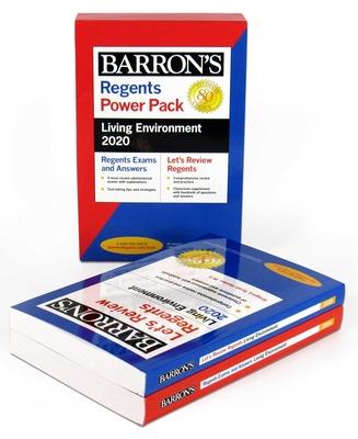 Regents Living Environment Power Pack 2020 (Barron's Regents NY) Cover Image