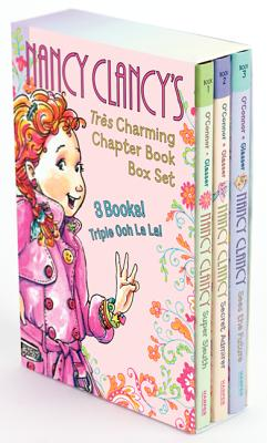 Fancy Nancy: Nancy Clancy's Tres Charming Chapter Book Box Set: Books 1-3 Cover Image