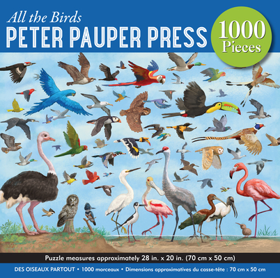 All the Birds 1,000 Piece Jigsaw Puzzle Cover Image