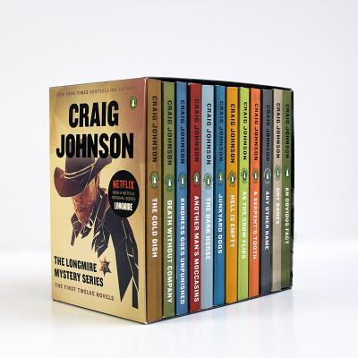 The Longmire Mystery Series Boxed Set Volumes 1-12: The First Twelve Novels (A Longmire Mystery) Cover Image